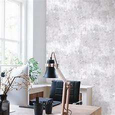 Moderne Industrial Style Beton Tapete In Hell Grau 68654