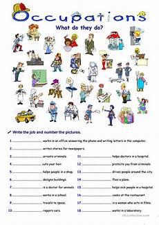 occupations worksheet free esl printable worksheets made by teachers