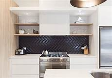 Black Backsplash Kitchen The Sophisticated New Tile Trend We Can T Get Enough Of In