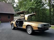 Rare Rides The 1983 DeLorean DMC 12 – A Gold Plated
