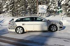spied 2014 opel insignia sports tourer facelift carscoops