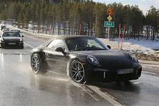 2015 Porsche 911 Cabriolet Facelift Spied With Central