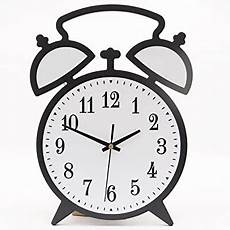 com jumbl trade wall clock with light sensor black and white 12 quot home kitchen