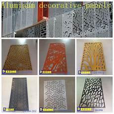 panneau decoratif aluminium m 233 tal aluminium perfor 233 panneau pour la fa 231 ade du b 226 timent