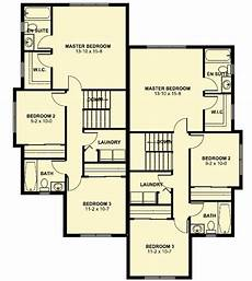 narrow lot duplex house plans duplex house plan for the small narrow lot 67718mg 2nd