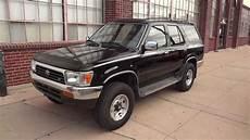 1993 Toyota 4runner 1993 toyota 4runner 4x4 v6 one family owned low for