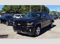 2017 Chevrolet Silverado 1500 4WD Crew Cab LT Black Roy