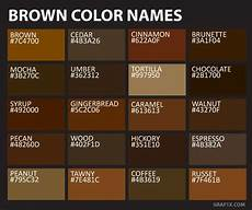 brown color names brown color names color names brown pantone