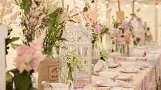 create an english country garden wedding with birdcage
