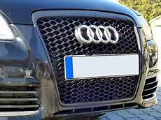 audi a6 4f facelift badgeless mesh grill debadged sport
