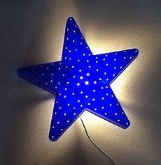 ikea smila stjarna blue star wall l night light bulb included night light star wall