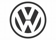 Volkswagen Black White Mode Logo Vector