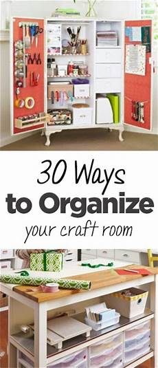30 ways to organize your craft room page 2 of 6
