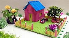 how to make paper house building beautiful and colourful