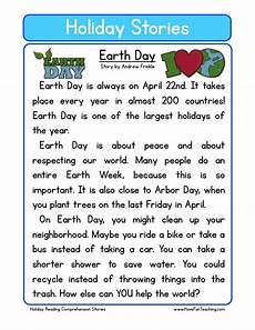 earth science reading comprehension worksheets 13265 reading comprehension worksheet earth day