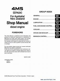 car repair manuals online pdf 1992 mitsubishi truck engine control mitsubishi fuso canter truck service manual pdf