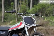 Modifikasi Rx 100 by Yamaha Dt100 1982 Motor Trail Lelangan Bergaya Kekinian