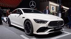 mercedes amg gt 4 the 2019 mercedes amg gt 4 door coupe is so popular i couldn t get near it