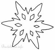 Schneeflocken Window Color Malvorlagen Bastelvorlage Weihnachten Winter Schneeflocke 5