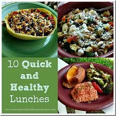 10 And Healthy Lunches Unsocialized
