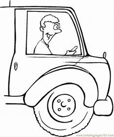 Driver Coloring Driver Coloring Page Free Profession Coloring Pages