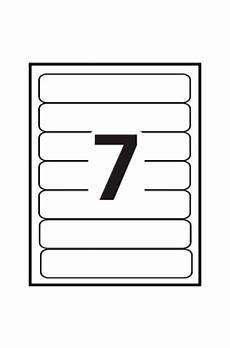 avery 174 print or write filing labels 5202 template 7