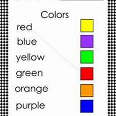 colors spelling printable 12809 match the color and word