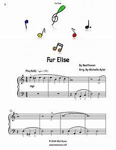 easy piano fur elise easy piano sheet music pdf