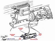 1986 corvette engine diagram 1986 corvette heat ac controls parts parts accessories for corvettes