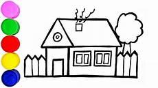 Haus Zeichnen Und Malen F 252 R Kinder F 252 R Kinder