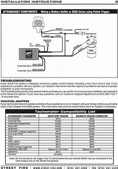 Msd 5520 Ignition Wiring Diagram by Msd Streetfire 5520 Wiring Diagram For Chevy With Magnetic