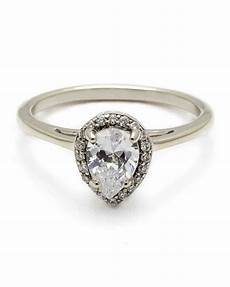pear cut diamond engagement rings martha stewart weddings