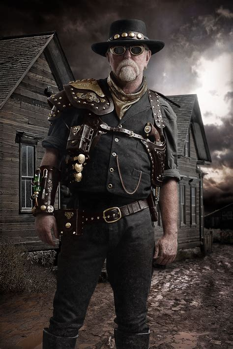 Steampunk Gunslinger