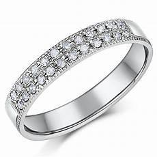 3 5mm palladium diamond eternity wedding ring palladium rings at elma uk jewellery