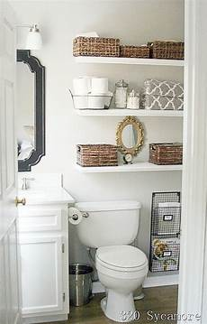 shelves in bathroom ideas 11 fantastic small bathroom organizing ideas a cultivated nest