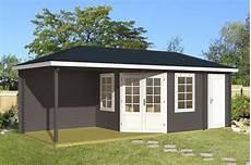Gartenhaus Holz 40 Mm - gartenhaus 40mm monaco mit freisitz 7 16x3m gartenh 252 tte