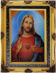 Hati Kudus Yesus Gambar Dan Hiasan Rohani Untuk Rumah Anda