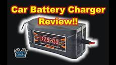 andys garage car battery charger review andy s garage episode 10