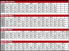 Armani Exchange Shoes Size Chart Size Charts Aerosoft