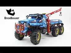 lego technic 42070 lego technic 42070 6x6 all terrain tow truck lego speed