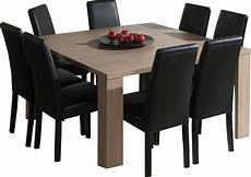 table a manger carree design mobilier table table carr 233 e avec rallonge pas cher