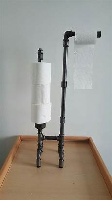 dérouleur papier toilette sur pied d 233 rouleur papier wc sur pied avec reserve industyle