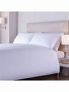 luxury hotel collection 400tc crisp percale fitted sheet single house of fraser