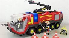 Ausmalbilder Feuerwehr Playmobil Playmobil Flughafenl 246 Schfahrzeug 5337 Auspacken Seratus1
