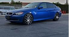bmw 328i gets 20 inch rims from giovanna stands