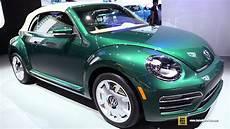 2017 volkswagen beetle convertible exterior and interior