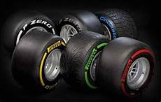 The Range Of Pirelli Tyres Used In F1