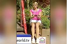 fitness instructor s crotch flashed live on ideal world
