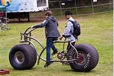tour de bike with wide hoosier racing tires bicycles