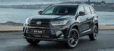 2019 Toyota Kluger 2019 toyota kluger goes with black edition
